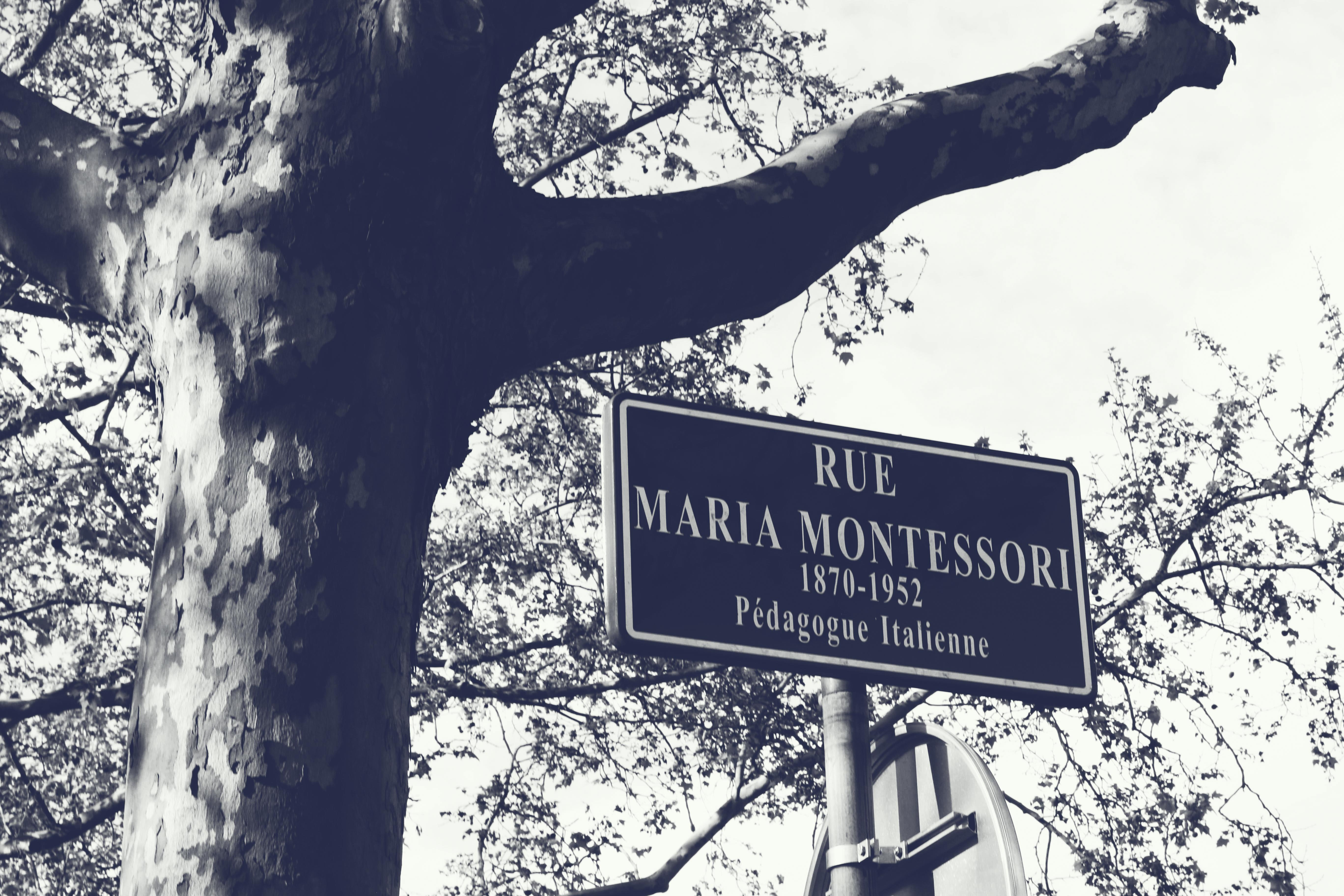 Le saviez-vous : la rue Maria Montessori