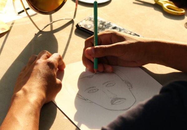 Atelier portrait au dessin