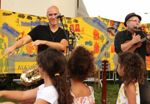 Concert des Weepers Circus au parc de l'île de France