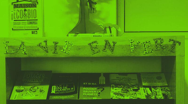 La vie en vert à la médiathèque